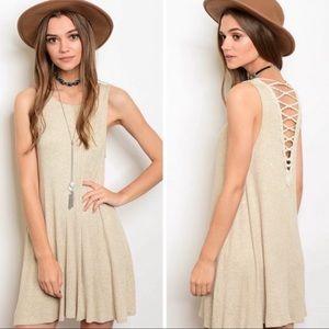 Dresses & Skirts - NEW! Boho Open Back dress
